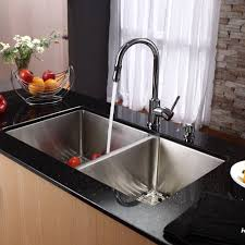 furniture astounding chrome metal kitchen faucet and kitchen sink