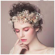 gold leaf headband crown forehead gold leaf headband women tiara bridal headpieces