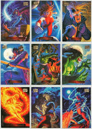 30 best marvel masterpieces 1994 fleer cards images on