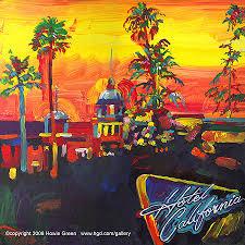 california photo album eagles hotel california pop album cover painting by howie