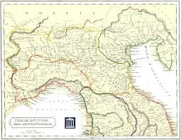 Map Of Italy Cities by Map Of Northern Italy With Cities You Can See A Map Of Many