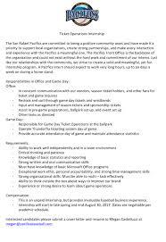 Sample Cover Letters For Internship Cover Letter Internship Business