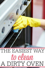 how to clean a self cleaning oven glass door the easiest way to clean the oven frugally blonde
