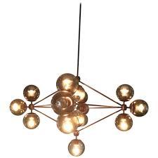 Orb Ceiling Light Possini Euro Design 15 Light Glass Orbs Ceiling Light Downmodernhome