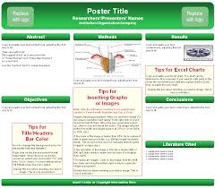 scientific posters powerpoint template powerpoint templates for