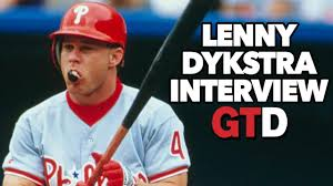 Lenny Dykstra Discusses Prison And Who He Is Going To Be - lenny dykstra it was hard for players not to take peds game time