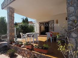 l u0027escala ground floor house with private swimming pool and garage
