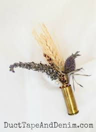 How To Make Boutonnieres How To Make Unique Diy Boutonnieres With Bullet Casings