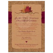 kraft paper wedding invitations fall in wedding invitation faux burlap faux kraft paper
