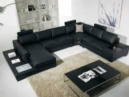 Nova Interiors T35 Leather Sectional By Vig Nova Interiors
