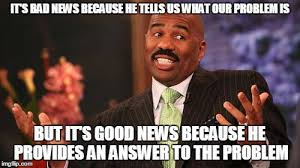 Good News Meme - not sure if good news or bad news gospel imgflip