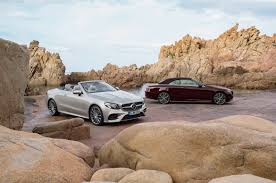 2018 mercedes e class cabriolet will keep necks warm and heads safe