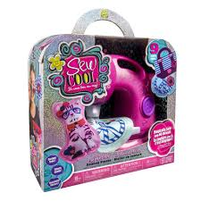 sew cool machine pink glitter toys