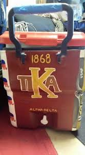 rush fraternity cooler pi kapp pi kappa alpha coolers