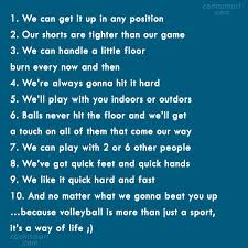 Hit The Floor Quotes - volleyball quotes and sayings images pictures coolnsmart