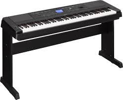 yamaha dgx 660 digital piano black w furniture bench ebay