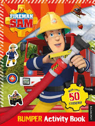 fireman sam activity book u2013 egmont