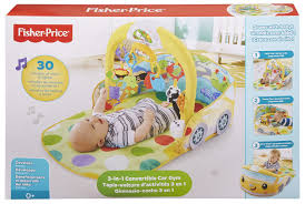 fisher price 3 in 1 convertible car gym multi color amazon in baby