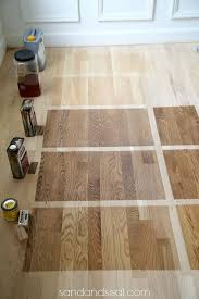 innovative hardwood floor stain 1000 ideas about staining hardwood