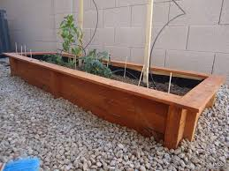 Greenes Fence Raised Beds by Cedar Garden Beds I Wonder If We Could Work A Bench Into The New