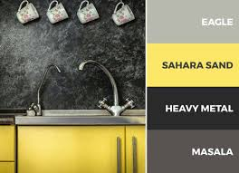 gray kitchen cabinets yellow walls 30 captivating kitchen color schemes