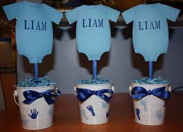 baby boy centerpieces stylist design ideas baby shower centerpieces boy best 20 on