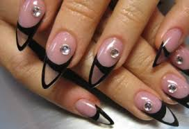 simple acrylic toe nail designs for beginners to do at home