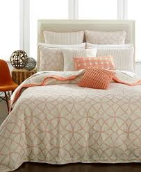 hotel collection textured lattice linen duvet covers created for
