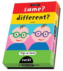 flip a flash opposites cards same different sale