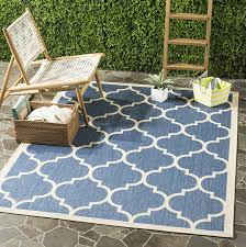 What Is An Indoor Outdoor Rug by Amazon Com Safavieh Courtyard Collection Cy6914 243 Blue And
