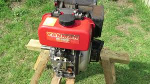 yanmar l40a start up and run youtube