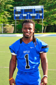 bentley college football n e football local trio garner spotlight boston herald
