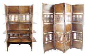 4 Shelf Bookcase White by 2 Way Display 4 Panel Heavy Duty Indian Screen 4 Shelves Bookcase