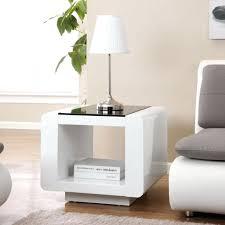 white gloss side table side table white side tables scenic living room also in sofa gloss