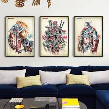 splash home decor comics avenger union iron man hulk giant splash painting art