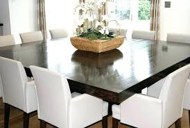 dining room table size based on room size 12 seater dining table size square dining table for simple of square