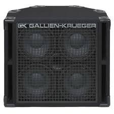 8 ohm bass speaker cabinet gallien krueger 410rbh 8 bass speaker cabinet 4x10 800w 8 ohm w