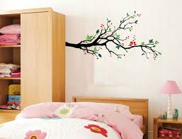 tree branches wall decal birds vinyl sticker nursery leaves