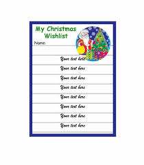 www my wish list 43 printable christmas wish list templates ideas template archive