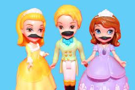 mustache sofia photo shoot play doh royal family