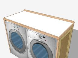 table top washer dryer new washer dryer table completed jeff branch woodworking