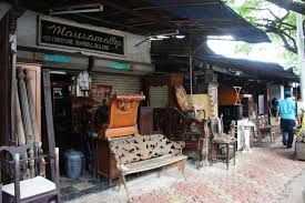 Second Hand Antique Furniture For Sale Bombayjules Desk Hunting At Oshiwara Antiques Market