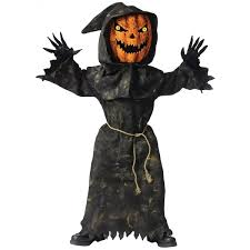 amazon prime halloween costumes amazon com bobble head pumpkin child u0027s costume large toys u0026 games
