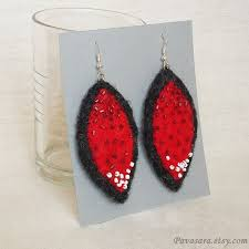 felt earrings 54 best jewellery to make felt earrings images on felt