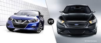 nissan maxima vs chevy impala nissan maxima vs 2016 ford taurus