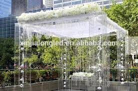 How To Make A Chuppah Transparent Acrylic Lucite Plexiglass Wedding Chuppah Clear