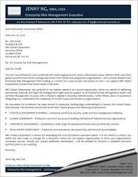 enterprise risk management executive cover letter sharon graham