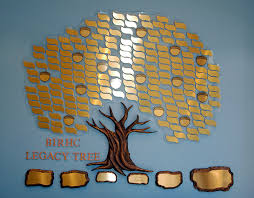 donor tree plaques modular series donor tree
