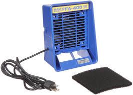 hakko fa400 04 bench top esd safe smoke absorber fume and smoke