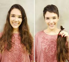 before and after picuters of long to short hair do these people look better before or after their makeovers